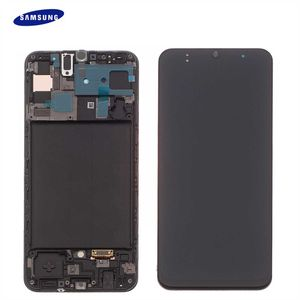 Original Samsung Galaxy A50 A505F LCD Display Touch Screen Bildschirm (Service Pack) GH82-19204A / GH82-19714A / GH82-19713A Black