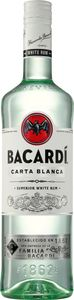 Bacardi Carta Blanca Rum | 37,5 % vol | 1,0 l