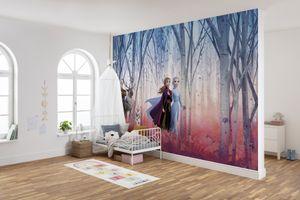 """Disney Fototapete von Komar """"Frozen Friends forever"""" - Größe 368 x 254 cm, 8 Teile"""