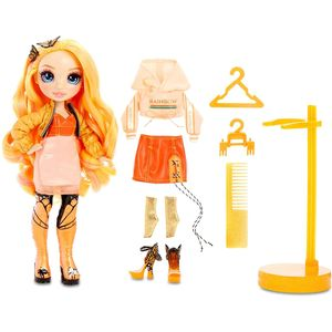 MGA Entertainment 569640E7C Rainbow High Fashion Doll- Poppy Rowan