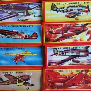 6x Styroporflieger Styroporflugzeuge 18x19 cm Flugzeug Spielzeug Geburtstag