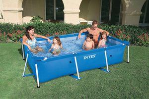 128272 Frame Pool Family Ii 300 X 200 X 75 Cm (L X B X H) Ohne Filterpumpe