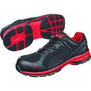PUMA 643890 Fuse Motion 2.0 Red Low Sicherheitsschuhe Arbeitsschuhe 64.389.0, Schuhgröße:43