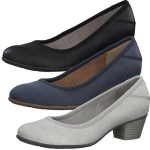 s.Oliver Damen Schuhe Pumps Blockabsatz 5-22301-26, Größe:41 EU, Farbe:Blau