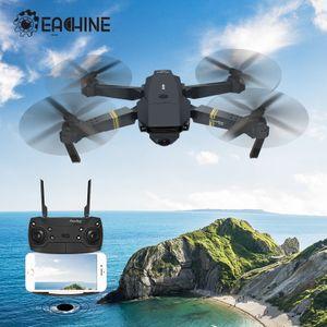 EACHINE E58 Drohne mit Kamera Live Übertragung,120°Weitwinkel 720P HD Kamera, WiFi FPV Quadrocopter, App-Steuerung, One Key Start/Landung,Headless Modus,Pocket Drohne für Anfänger