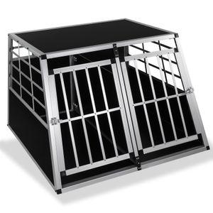 PKW Auto Alu Hundebox Hundetransportbox Bello 2 Transportbox Transportkiste
