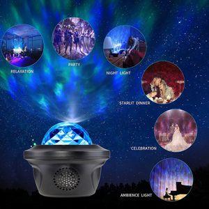 LED Projektor Sternenhimmel Lampe mit Wasserwellen Welleneffekt Lautsprecher Neu,  Kommt mit einem kleinen Geschenk, Kindergeschenke