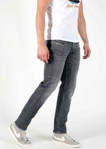 M.O.D Herren Straight Leg Jeans Hose Thomas Comfort Fit AU20-1009 Everett Grey Jogg W38/L36