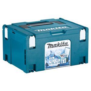 Makita Makpac 3 Kühlbox System Koffer Cool Case 11 Liter Volumen mit Isolierauskleidung ( 198254-2 )