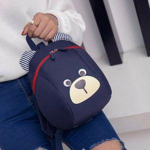 Rucksack Kinderrucksack Kinder Kindergartenrucksack Bär Infantil Babytaschen (Navy Blau)