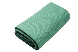 Yoga-Decke »Ananda« Das Yoga-Handtuch ideal für Hot-Yoga und andere schweißtreibende Yogastile. Auch als Unterlage für Yogaübungen geeignet, 183 x 61 cm grün