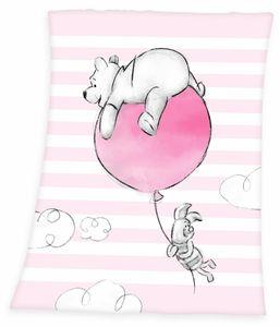 Disney`s Winnie the Pooh Baby Flauschdecke Schmusedecke 75 x100 cm