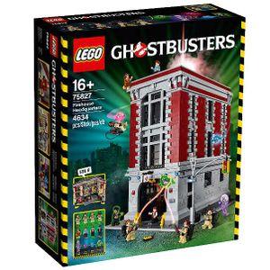 LEGO 75827 Feuerwehr-Hauptquartier  LEGO Anzahl Anleitungen: 1, Anzahl Minifiguren: 10, Altersberatung: 16+, Verpackungsmaße (lxbxh): 58 x 48.5 x 18.5 cm, Veröffentlicht in: 2016, Zahl: 75827-1, Gewicht: 6.416 KG, Thema: LEGO Ghostbusters, Anzahl Teile: 4600, EAN: 5702015598323