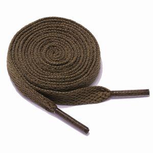 Schnürsenkel flach 120 cm 4# braun 8 mm breit