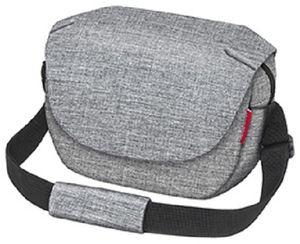 Rixen&Kaul Klickfix Funbag grau Lenkertasche 4L Schultertasche kompakt