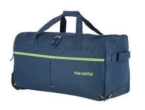 Travelite Basics Fast Duffel Trolley Reisetasche mit Rollen 096283, Farbe:Marine