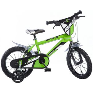 "Dino Bikes Kinderfahrrad MTB R88 Grün 16"" DINO356007"