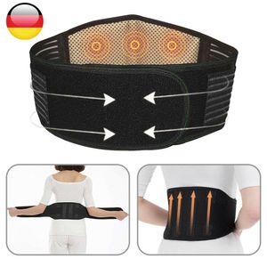 Miixia Rücken Lumbo Stützgürtel Rückenbandage Lendenwirbelstütze Atmungsaktiver Gürtel Taille:90-110cm