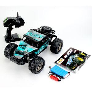 RC Car 1:12 60km / h Offroad Ferngesteuertes Auto Monster Truck Rennauto Spielzeug-Grün