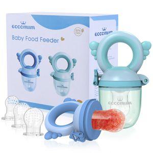 Eccomum Baby Bite Bite Obstbeiss Beißbeutel Baby Beißring Baby Schnuller Beißring Beiß Obst und Gemüse Ergänzungsset