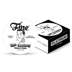Fine Platinum Rasierseife 150ml New Formula
