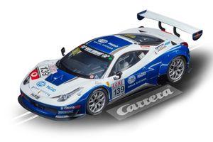 Carrera rennwagen Ferrari 458 Italia GT3 #139 1:24 blau/weiß
