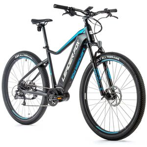 29 Zoll LEADER FOX Swan Gent E-Bike MTB LG 540Wh S-Ride 9 Gang Pedelec RH49 Schwarz Blau