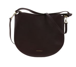 COCINELLE DIONE Hand-Tasche klassische Damen Tasche aus italienischem Leder Lila-Rot