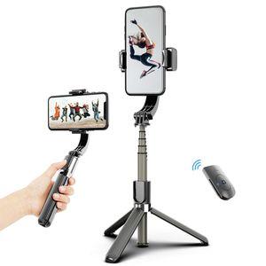 3 in 1 Telefon Gimbal Stabilizer Selfie Stick Stativ 86 cm 5-teilig mit Fernausloeser Telefonklemme Smart drehbar Kompatibel mit HUAWEI Smartphones