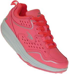 Sexy Fitnessschuhe Sport Schuhe 5 Farben Gesundheitsschuhe Damen Sneaker 003, Schuhgröße:38, Farbe:Rosa