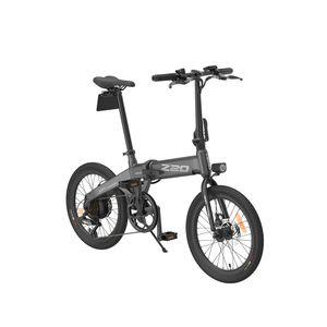 HIMO Z20 E-Bike Klapprad Elektrofahrrad Mountainbike 250W 36V 10AH Lithium Akku 25km/h Fahrrad Shimano 6 Gänge, Grau