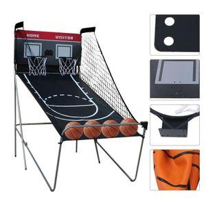 Basketballkorb Basketballständer Basketballspiel Basketball Automat Spielzeug Elektronische Scoring-Schießmaschine für Erwachsene Kinder Indoor Outdoor