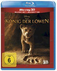 König der Löwen  (BR) 3D Real-Film '2019 Min: 118DD5.1WS  3D&2D   *ersetzt LE - Disney  - (Blu-Ray 3D / Abenteuer)