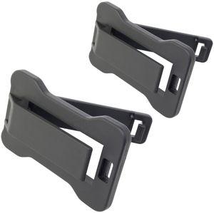 Carpoint sicherheitsgurtverstellungen schwarz 2 Stück