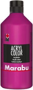 Marabu Acrylfarbe Acryl Color 500 ml magenta 014