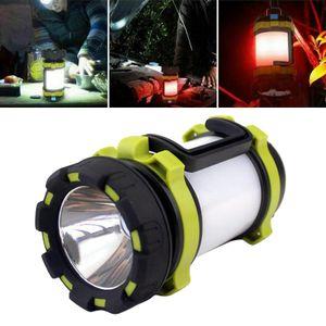 LED Camping Laterne USB Aufladbare, Hohe Lumen Taschenlampe, 4 Modi, hohe Kapazität Power Bank-Beste Laterne Zelt Lampe für Camping Outdoor Notfall