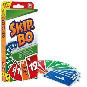 Skip-Bo im Thekendisplay Für Kinder und Familie geeignete Kartenspiele