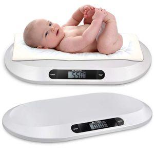 Elektronische Digital Babywaage Kinderwaage Tierwaage Säuglingswaage 20KG/44LBS LCD-Display