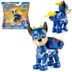 Mighty Pups | Spiel-Figuren mit Spezial-Funktionen | Paw Patrol | Hunde-Welpen, Figur:Chase