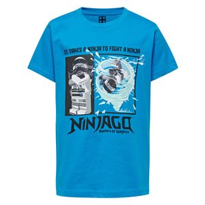 Lego Wear Jungen T-Shirt Ninjago blau CM-50104 Gr. 104 - 140 104