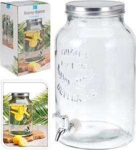 Vorratsdose Glas mit Wasserhahn lt5.5