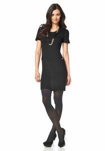 Chillytime Strickkleid, schwarz Kleider Größe: 36