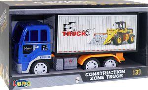 Luna Construction Zone Gütercontainer Frachtbehälter LKW Lastwagen Fahrzeug + 3J