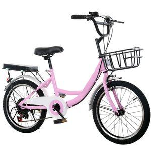 20 Zoll Fahrrad Mädchen Damen Bike Citybike Cityrad Rad Kinderfahrrad Downtownräder (Rosa)