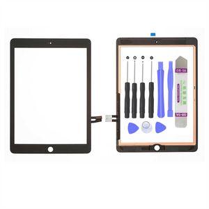 iPad 6.Generation 2018 9.7 Zoll A1893 A1954 Touchscreen Digitizer Display Glas Front Panel Ersatz Vordere Scheibe Schwarz