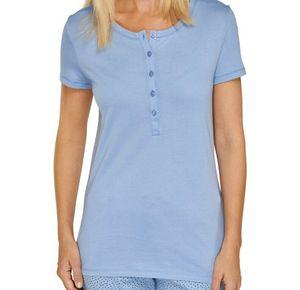 Schiesser  Damen Schlafanzugoberteil / T-Shirt Gr. 34