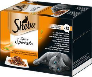 Sheba Schale 12x 85g - Sauce Spéciale