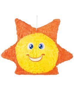 Boland piñata sun 48 x 37 cm Papier orange/gelb