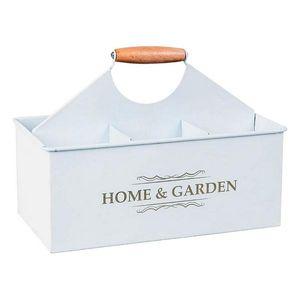 Flaschenregal Weiß 111163 vintage Milchflaschen-Kasten Träger für 6 Flaschen