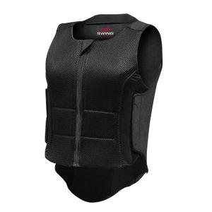 SWING Rückenprotektor P07 flexible, Erwachsene schwarz, EXL
